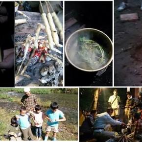 第3回サバイバルキャンプ(春)リアル体験~生きることは食べること~