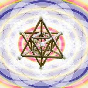 幾何学立体作り&瞑想のワークショップ